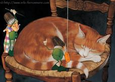 Mic & Mac - L'attaque du chat © Erlé Ferronnière