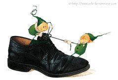 Mic & Mac - La chaussure © Erlé Ferronnière