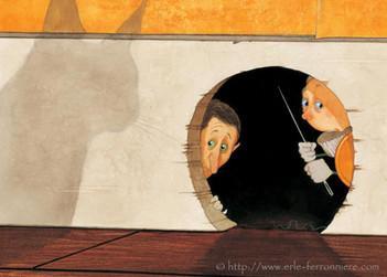 Mic & Mac - Le trou de souris I © Erlé Ferronnière