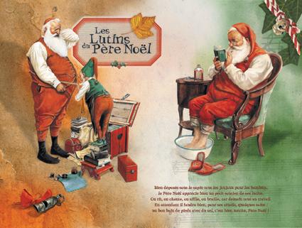 Panneau-05 Les Lutins du Père-Noël