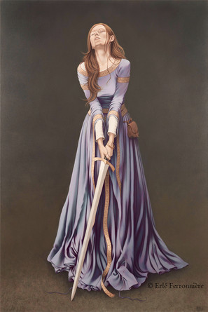 La dame à l'épée © Erlé Ferronnière