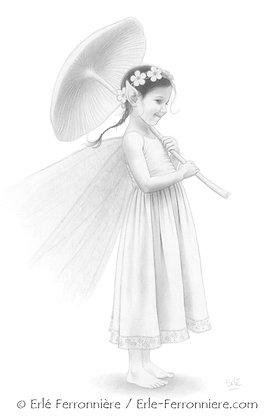 La fée à l'ombrelle
