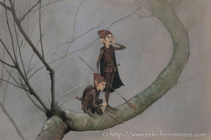 Les elfes guetteurs © Erlé Ferronnière