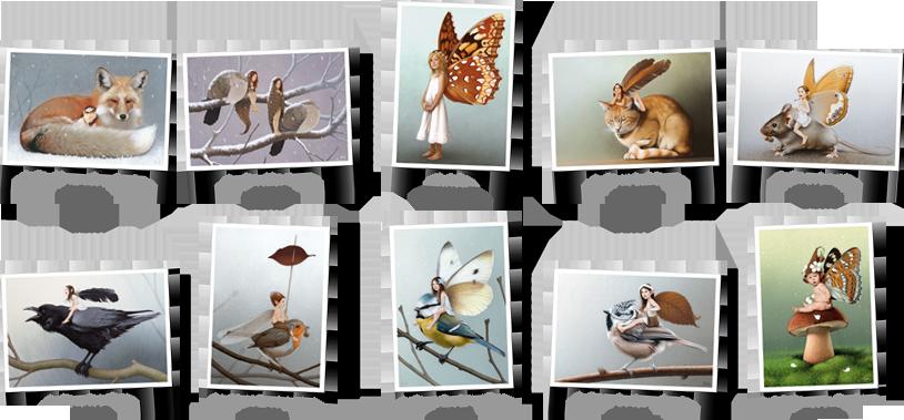 Pack cartes postales n°1