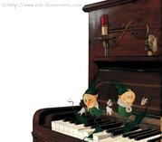 Mic & Mac - Le piano © Erlé Ferronnière