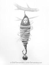 Moïra, le bébé fée suspendu © Erlé Ferronnière