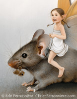 La fée sur la souris (détail) © Erlé Ferronnière