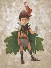 Lutin, gardien de la forêt © Erlé Ferronnière