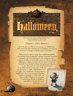 Panneau-01 Halloween - Chantez, criez, dansez !