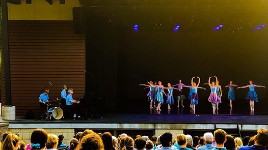 Performing at Interlochen Arts Camp