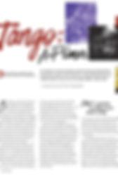 Tango: A Primer in Chamber Music Magazine 2018