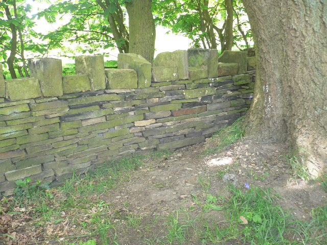 Church wall completed