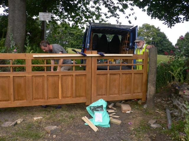 New gates July 2015