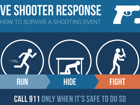 Active Shooter : Tips To Keep You Safe
