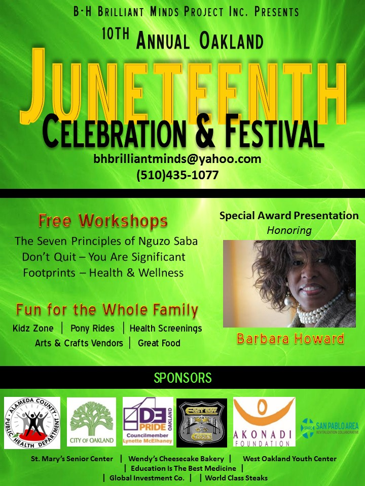 juneteenth west oakland