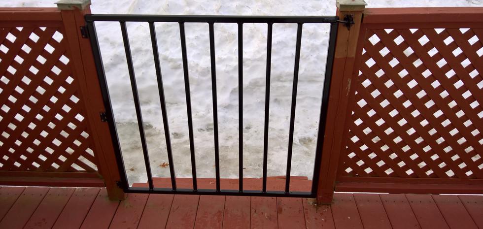 Barrière de patio