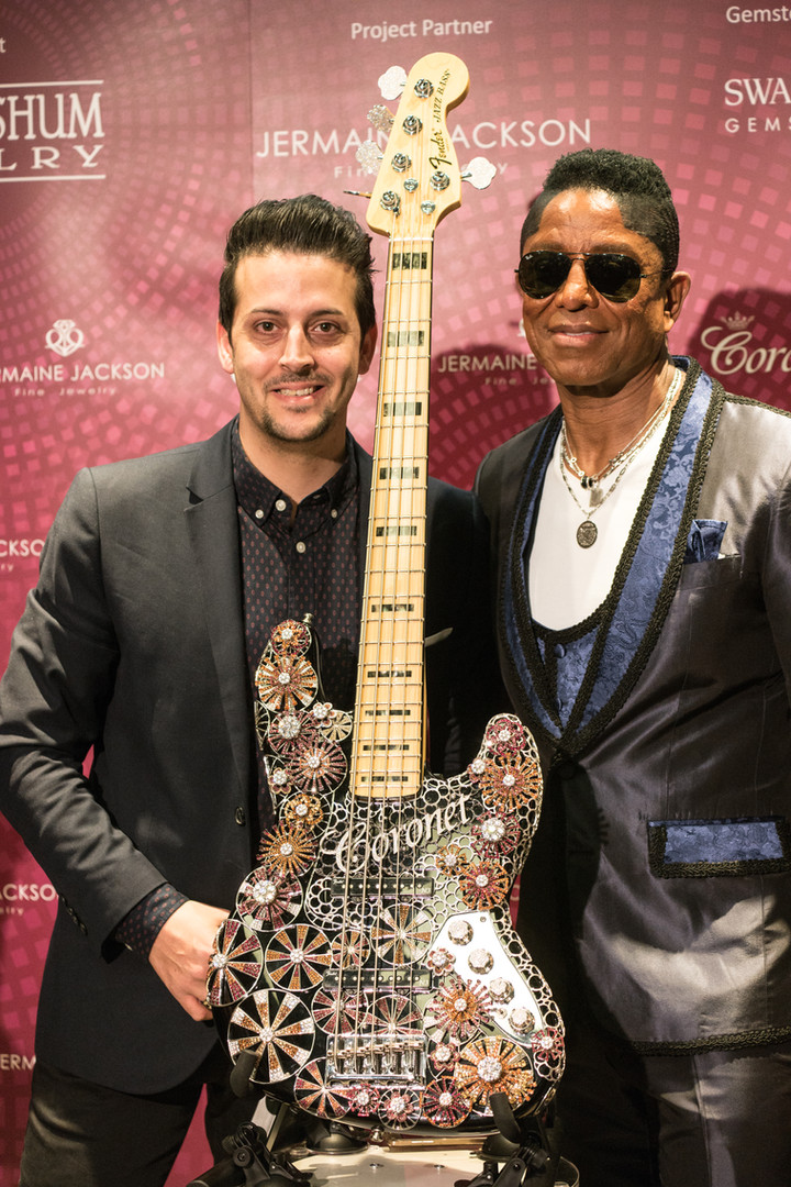 Jermaine Jackson and me