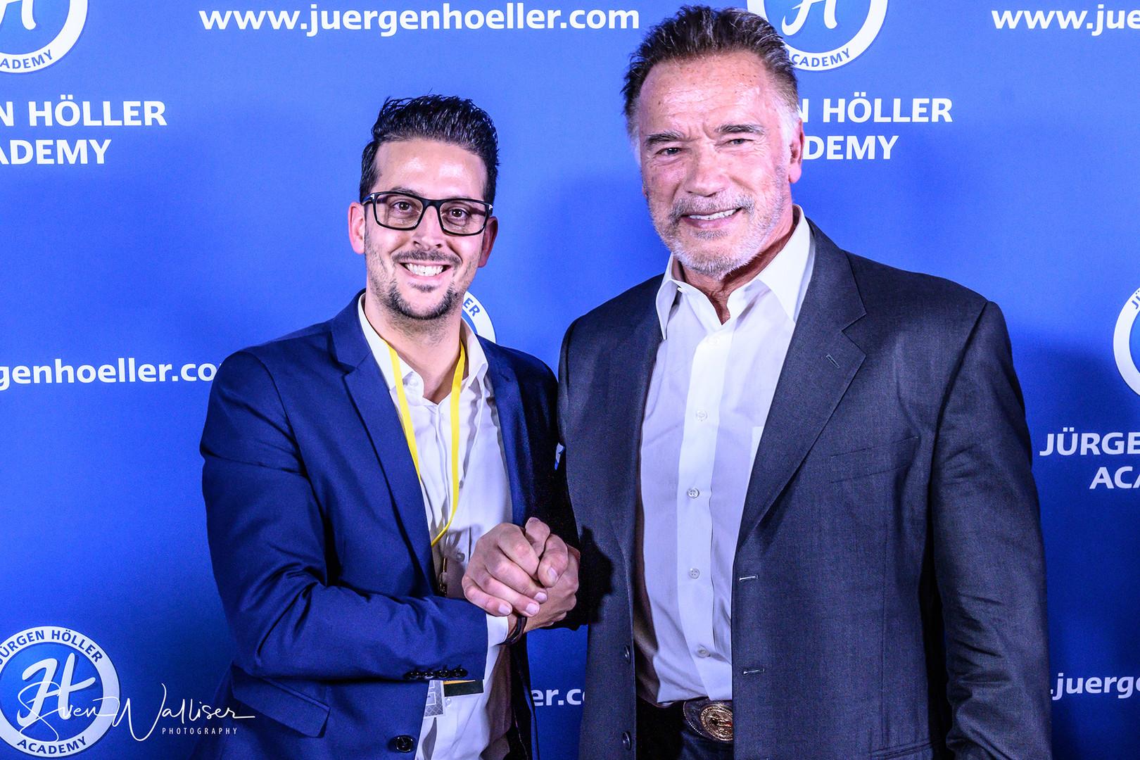 Arnold Schwarzenegger and me