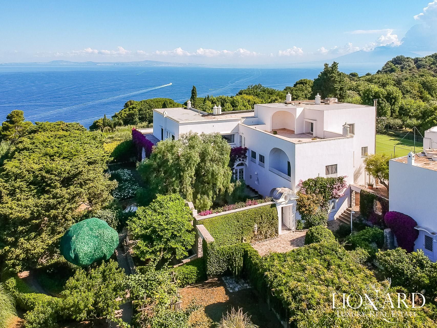 Villa nell'isola di Capri