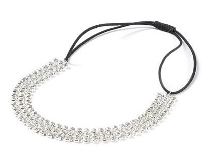Wide Rhinestone Headband