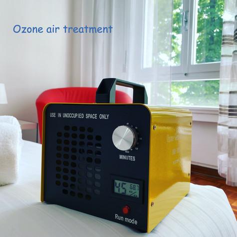 Ozone air purification