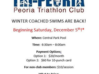 Winter Coached Swims are back!