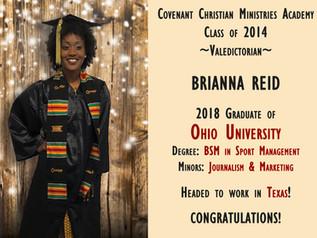 Alumni Spotlight: Brianna Reid