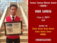 Student Spotlight: Mark Gamboa