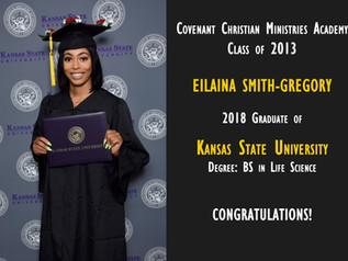 Alumni Spotlight: Eilaina Smith-Gregory