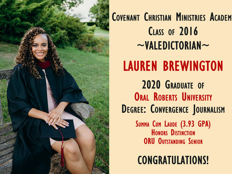 Alumni Spotlight: Lauren Brewington