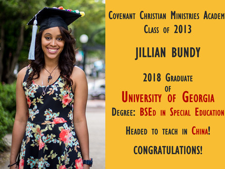 Alumni Spotlight: Jillian Bundy
