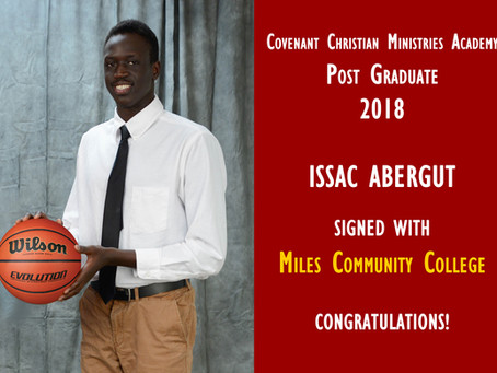 Post Graduate Spotlight: Issac Abergut