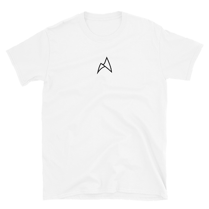 EMBROIDERED TEE (BLACK/WHITE)