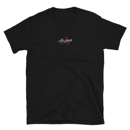 'LAUNCH EDITION' EMBROIDERED TEE (BLACK/WHITE)