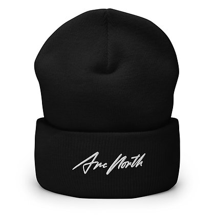 'LAUNCH EDITION' BEANIE [ARC NORTH] - (BLACK/WHITE/RED)