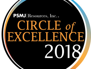 Pivot North honored as a member of PSMJ's 2018 Circle of Excellence