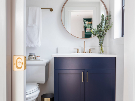 Spring 2020 One Room Challenge Week 2: Bathroom Renovation
