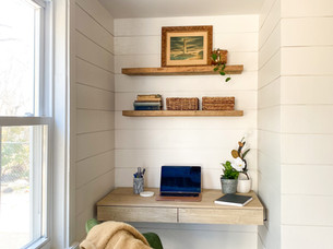 Before & After: Home Office/Mudroom Renovation