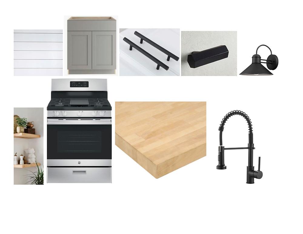 kitchen design board, kitchen renovation