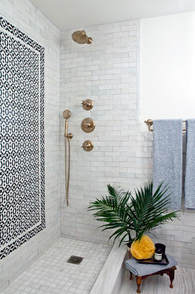 Tile Picture Frame Shower Wall