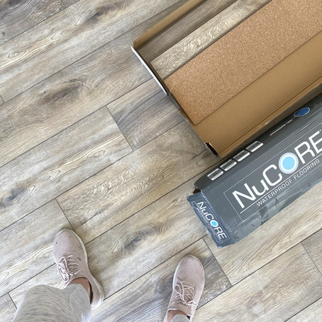 DIY Project: How to install wood-look vinyl flooring
