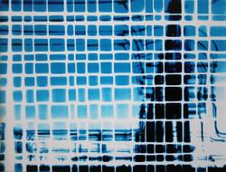 blue industrial weave