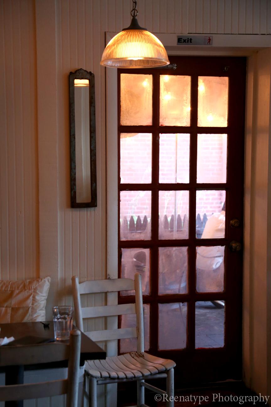 door to outside