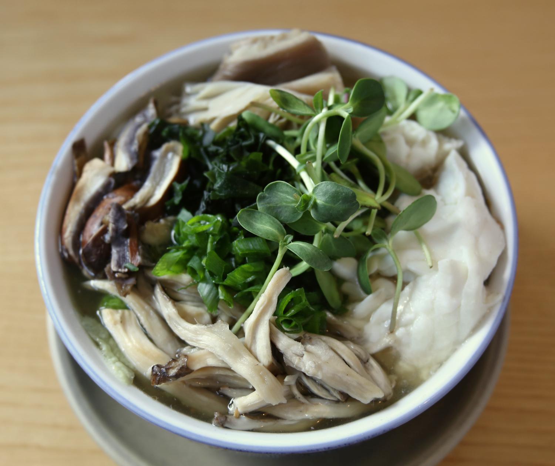 Omakase udon noodle bowl