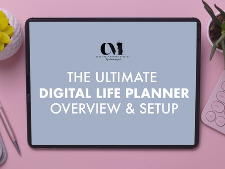 The Ultimate Digital Life Planner Full Overview Guide Reveal & Setup 2021
