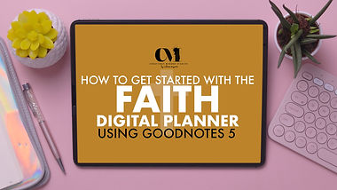 How to get started with your faith digit