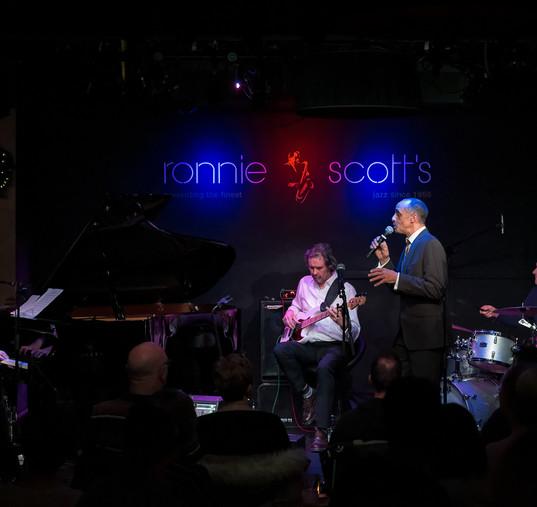 Karl Charity at Ronnie Scott's
