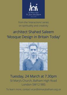 SMB Mosque Architecture event