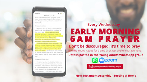 Young Adults Early Morning Prayer
