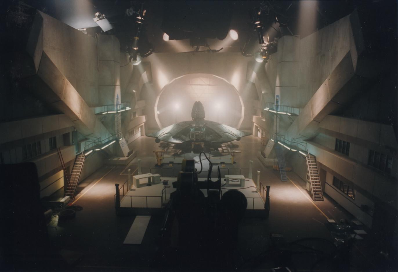 Miniature of Area 51 hangar